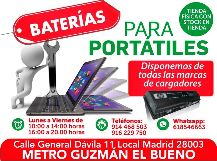 618546663 garantia en baterias para portatiles