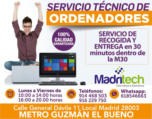 Servicio tecnico ordenadores ciudad universitaria madrid for Servicio tecnico grohe madrid