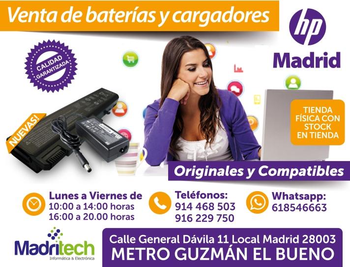 venta cargadores y baterias hp madrid(1)