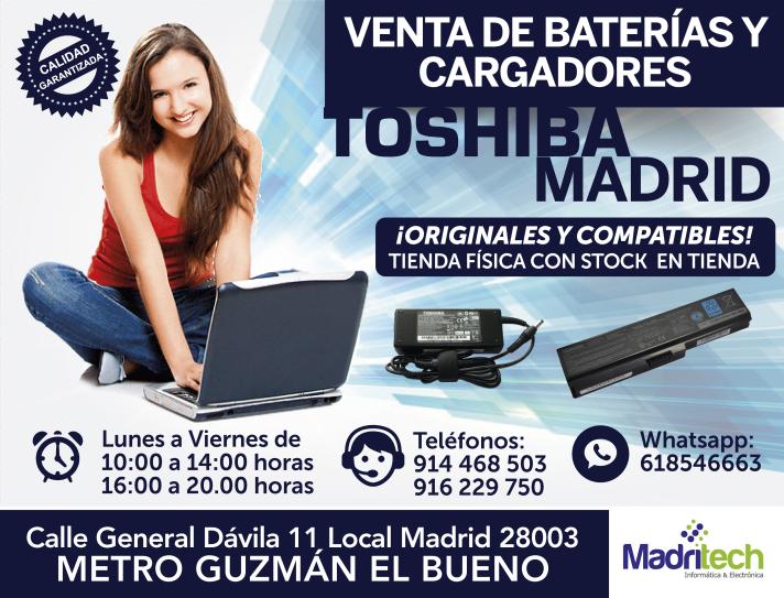 venta-cargadores-y-baterias-toshiba-madrid